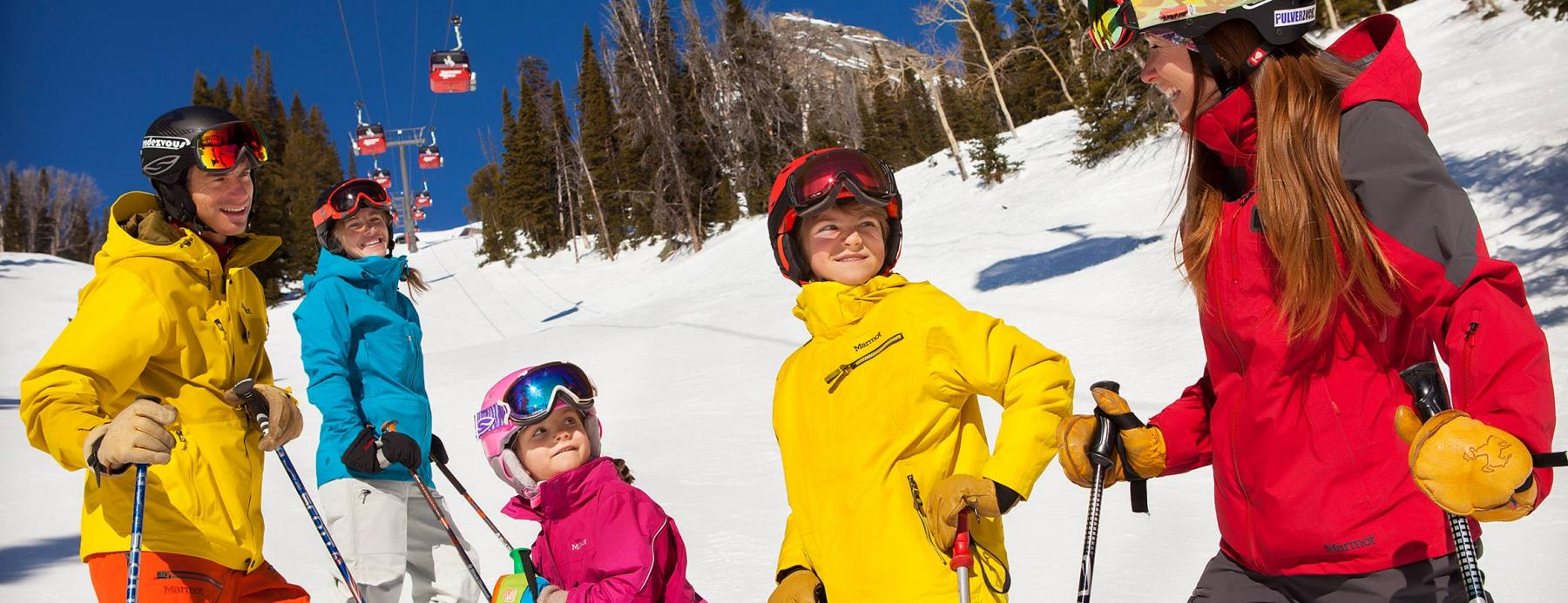 Kids Ski Free with Jackson Hole Resort Lodging