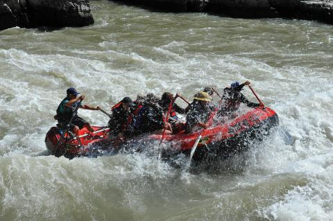 Whitewater Rafting on Snake River