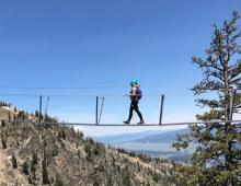 Via Ferrata- Jackson Hole's newest high alpine adventure.