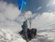 Who Said Paragliding Was Just a Summer Activity?